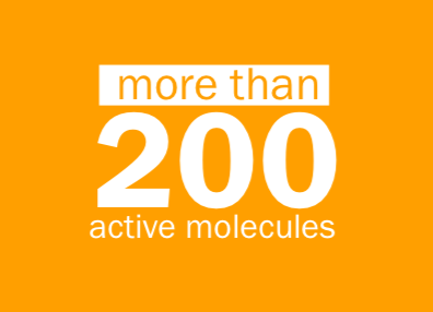 more than 200 active molecules in Dr. D's Ultra BioTurmeric