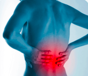 Back pain due to rheumatoid arthritis which can be remedied with Curcumin